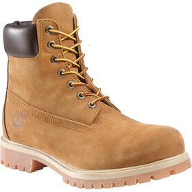 "Timberland Icon Collection Premium Boots Men 6"" Medium Orange Nubuck"